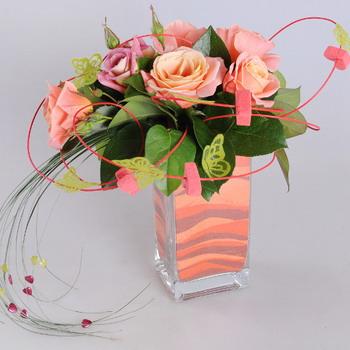 Цветочные композиции из цветов