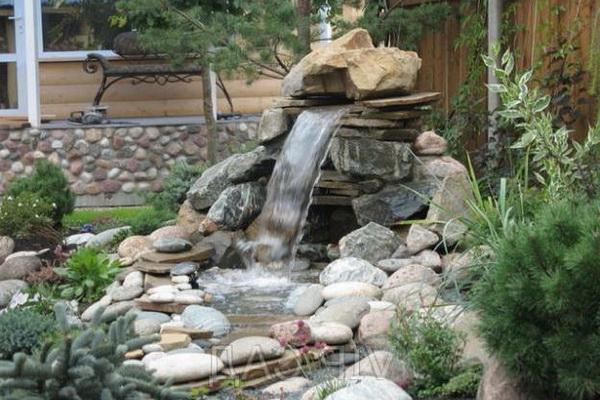 Красивый фонтан дома своими руками 72