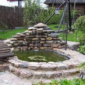 как сделать пруд своими руками в саду